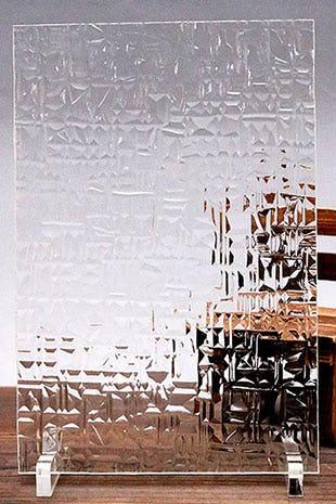 アブストラクト(クリア) A4サイズガラス