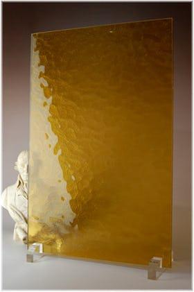 キャセドラルMIN(イエロー) A4サイズガラス
