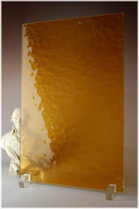 キャセドラルMIN(オレンジ) A4サイズガラス