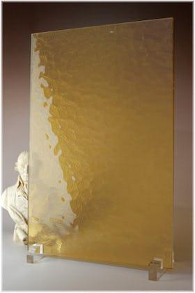キャセドラルMIN(ライトイエロー) A4サイズガラス
