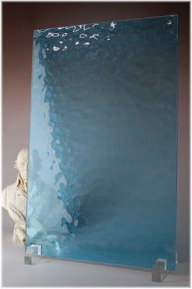 キャセドラルMIN(ライトブルー) A4サイズガラス