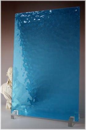 キャセドラルMIN(ブルー) A4サイズガラス
