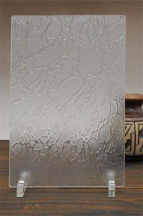波紋 A4サイズガラス