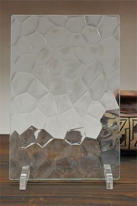 亀甲ガラス A4サイズガラス