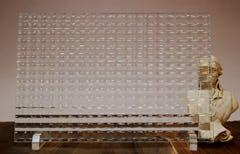 チェッカーガラス