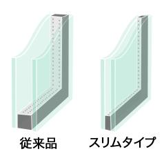 ペアガラスの構造