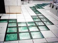 床専用ガラス