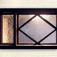 昭和型板ガラス