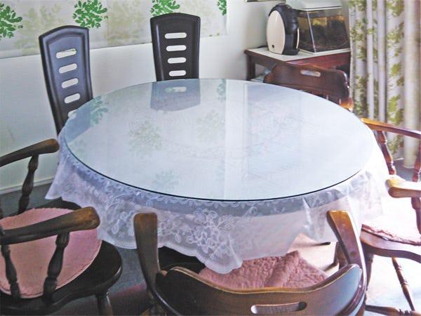 円形テーブルトップ