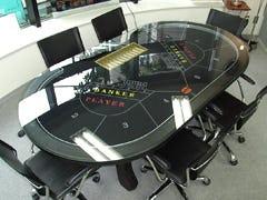 オーバル型テーブルトップ